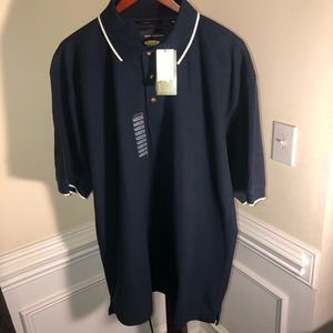 NWOT!Greg Norman Play Dry* Navy*M/Wicking